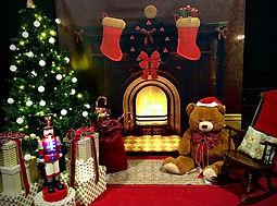 Christmas Living Room Set up