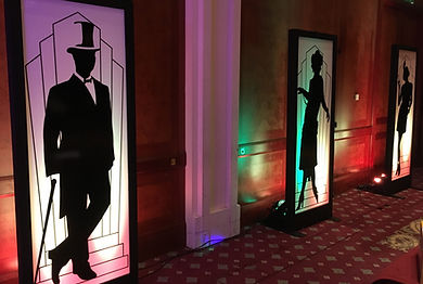 Deco Light Panel Hire