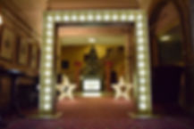 Grand Bulb Entranceway hire