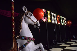 Circus parties in London