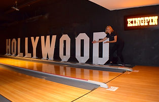 Giant Hollywood Letters Prop