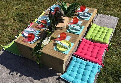 Pallet Garden Furniture Kids Party