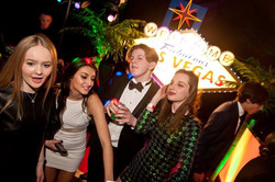 Las Vegas Themed Party in London