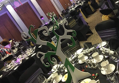 Wonka Tree Centrepieces