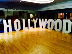 Hollywood Sign Hire