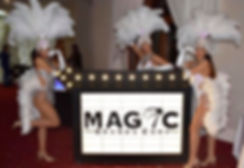 Magic Brand Light up Branded Sign Events