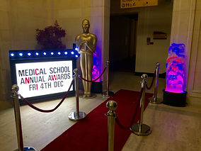 Medical Awards Dinner Prop Hire