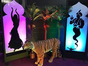 Princess Jasmine's Tiger Rajah Rajah