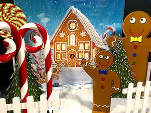 Gingerbread Man Props
