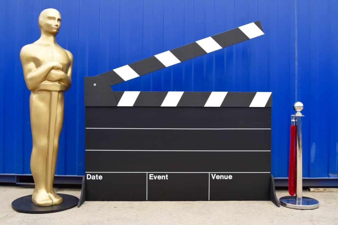 Giant Clapper Board Prop Hire