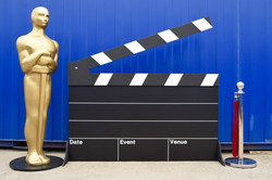 Giant Clapper Board Prop Hire
