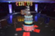 Circus Table Centrepieces