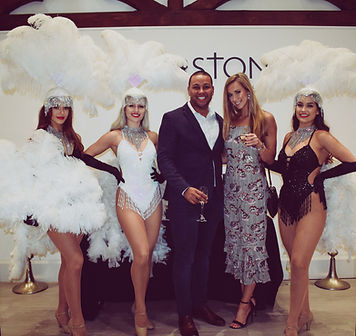 Showgirl Hire Cardiff Wales