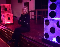 Light up Giant Dice Prop Hire