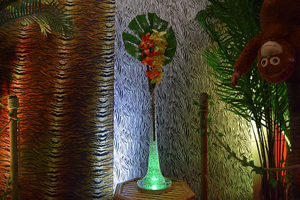 Jungle Table Centrepieces, Hawaiian Cent