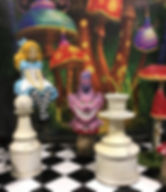 Alice in Wonderland Themed Prop Hire