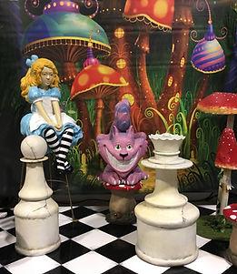 Alice in Wonderland Themed Prop Hire