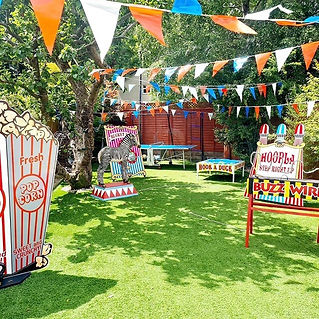 Children's garden parties