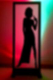 Bond Girl Light Box