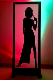 Bond Girl Light Box