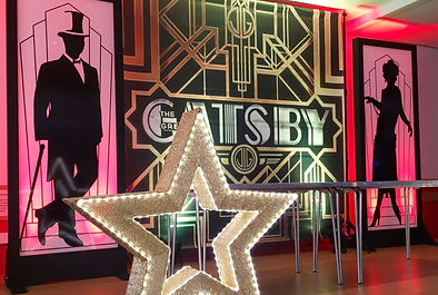 Gatsby Themed Prop Hire in London