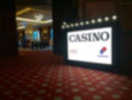 Casino Themed Light Box