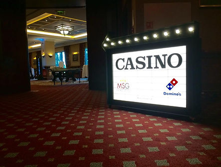 Casino Themed Light Box