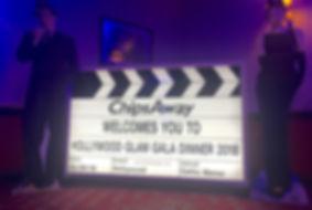 Vintage Light up Clapper Board Prop