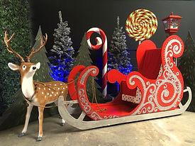 Santa Sleigh for Hire