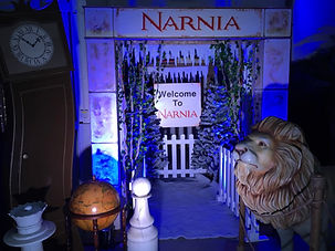 Narnia Winter Wonderland Prop Hire