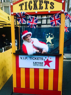 Ticket Booth Prop Hire