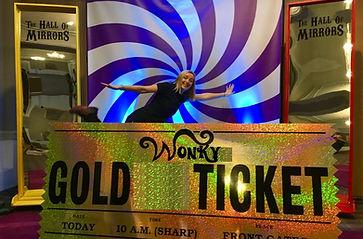 Golden Ticket Prop
