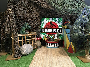Budget Dinosaur Party Package