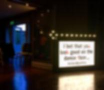 Wedding Cinema Sign Hire