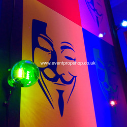 Pop Art Theme, Masked Ball Theme