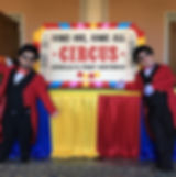 Giant Circus Ticket prop hire