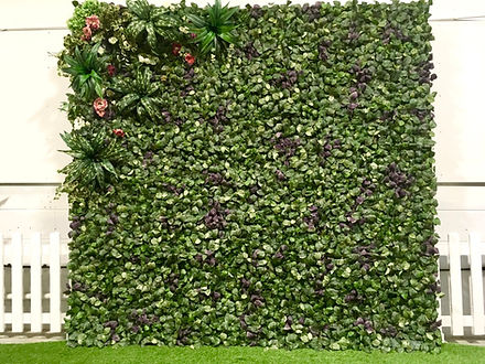 Wedding Foliage Flower Wall
