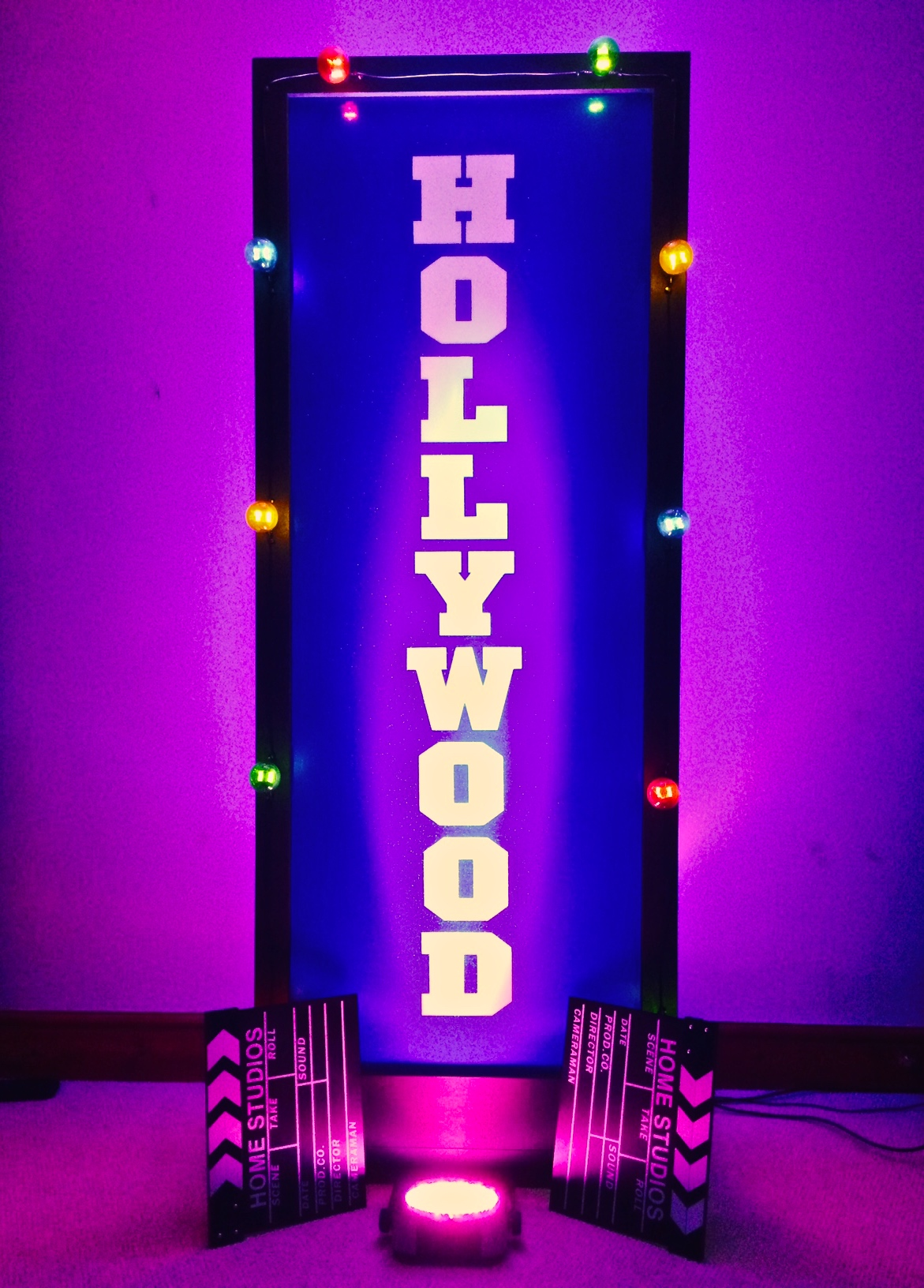 Hollywood Sign Prop