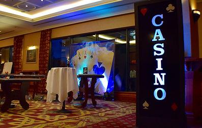 Casino Lightbox Hire