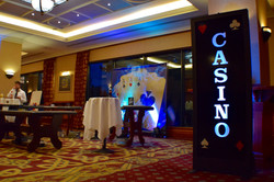 Casino Lightbox Hire