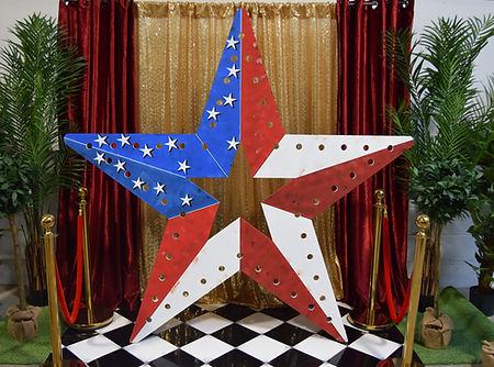 7ft Giant Circus Star Prop