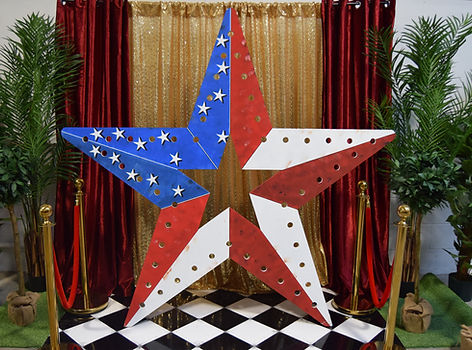 7ft Giant Circus Star Prop