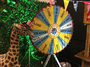 Vintage Carnival Wheel Hire