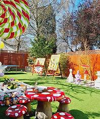Children's Birthday Garden Parties