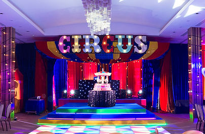 Circus Sign Hire for Parties