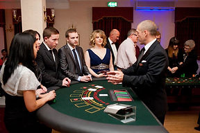 Blackjack Croupier Hire