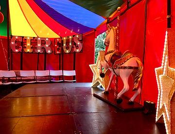 Circus tent Prop Hire
