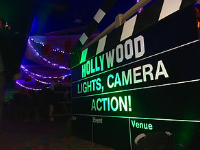 Lights Camera Action Giant Clapperboard