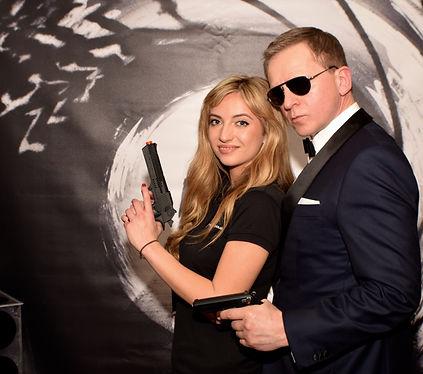 007 Photo Wall Backdrop Hire