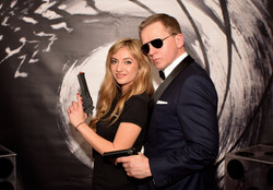 007 Photo Wall Backdrop Hire